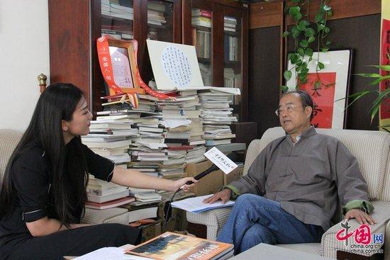 """田青:佛教艺术是促进""""一带一路""""文化交流的纽带"""