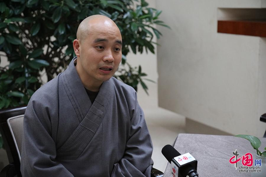 中国佛教协会副会长宗性:佛教可以很好地拥抱互联网时代