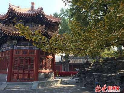 北京西三环边上竟藏着一座百年古刹