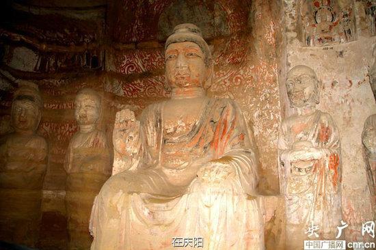 甘肃庆阳北石窟寺区域历史古道