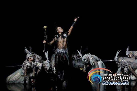 大型民族舞剧《甘工鸟》海口首演 黎族传说搬上舞台