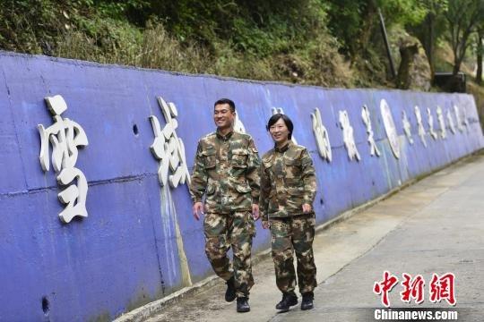 西藏边防夫妻国门前的坚守