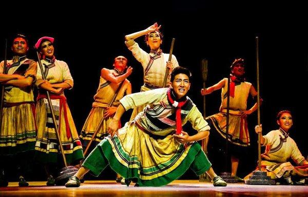 藏族舞蹈《阿嘎人》:雪域高原上的劳动欢歌